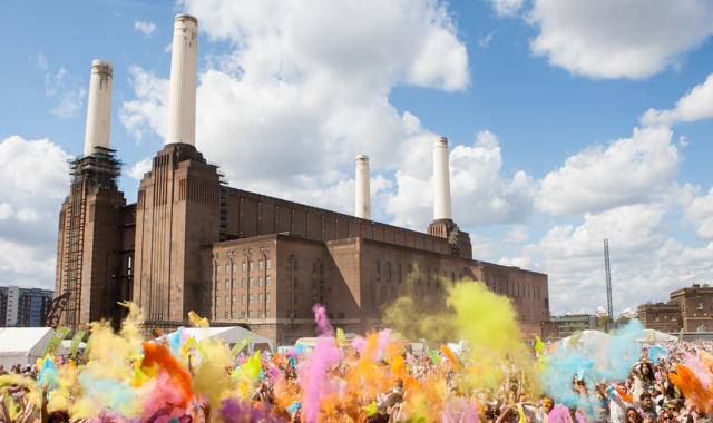 Battersea Power Station - Event Hire; Extinguisher Rentals;