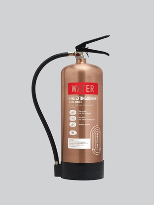 Midland Fire - First Class Range - 9 Litre Water with a polished copper finish