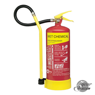 Midland Fire - 9 Litre Wet Chemical Fire Extinguisher