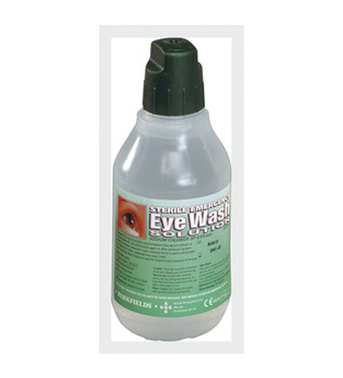 midland fire - sterile eye wash bottle refill