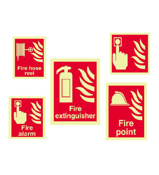midland fire - fire alarm call point signs