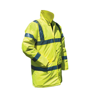midland fire - luminescent yellow fire marshal jacket