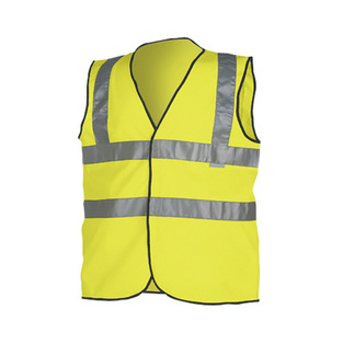 midland fire luminescent yellow fire marshall hi vis vest